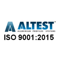 Altest ISO 9001:2015 Certificate